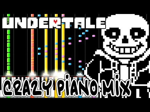 Download Crazy Piano Mix! MEGALOVANIA [Undertale] in Full HD