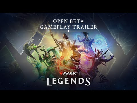 Magic: Legends : Open Beta Gameplay Trailer