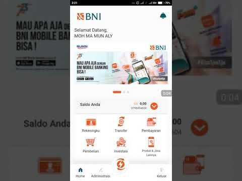 CARA CEK MUTASI REKENING DI BNI MOBILE BANKING TERBARU 2019