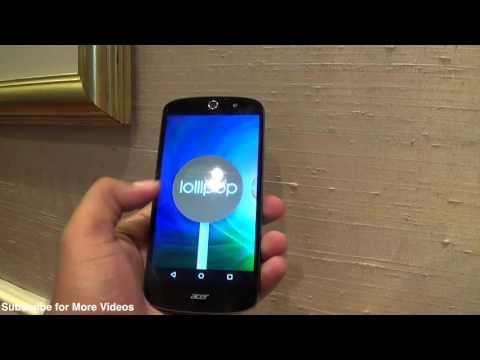 Acer Liquid Z530 hands on Review, Camera, Features