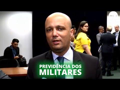 Relator apresenta parecer da Previdência dos Militares