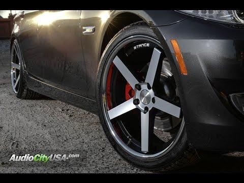 "BMW 528 i 2012 On 20"" Stance Wheels"