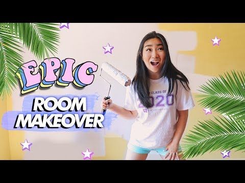 EPIC DIY Room Makeover / Transformation (Studio Room Makeover Part 1) | JENerationDIY