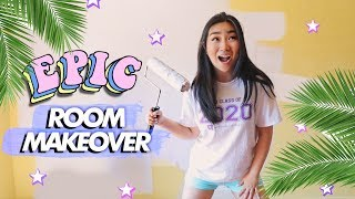 EPIC DIY Room Makeover / Transformation (Studio Room Makeover Part 1) | JENerationDIY