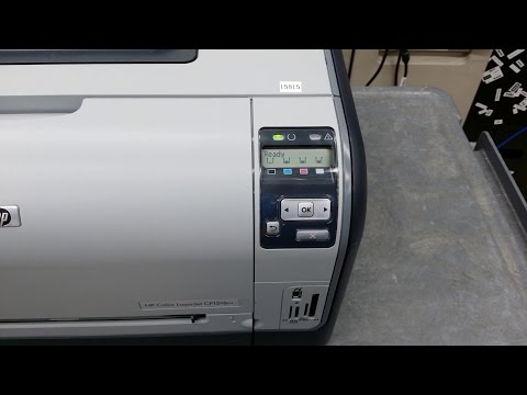 How to replace the pick up, separation, and transfer roller on an HP Color LaserJet  CP1518ni