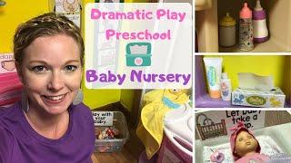 DIY Dramatic Play   Baby Nursery Play Center   Preschool Classroom
