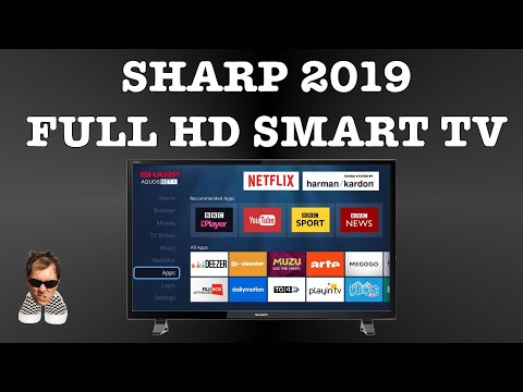 "Sharp 40"" Full HD Smart TV First Look LC-40FI5012K"