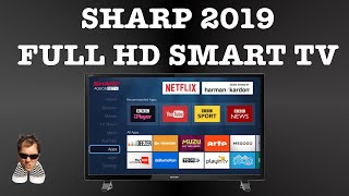 "Sharp 40"" Full HD Smart TV First Look LC-40FI5012K"