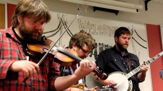 """Trampled By Turtles """"Midnight On The Interstate"""" (Lawrence High School Classroom Sessions Pt.4)"""