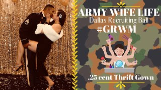 $.25 Dress!? | ARMY WIFE LIFE | Dallas Military Ball