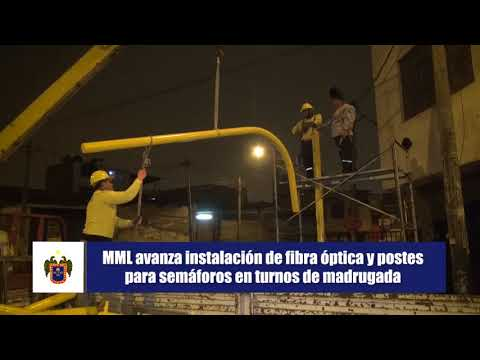 Instalamos semáforos inteligentes en Lima Metropolitana