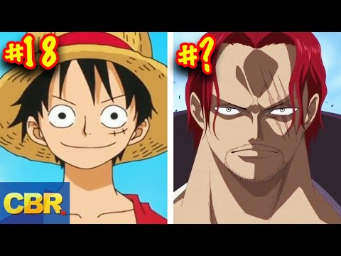 The 25 Most Powerful One Piece Characters Of All Time (Ranked) (видео)