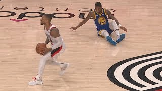Lillard Drops McKinnie! Warriors Sweep Blazers! 2019 NBA Playoffs