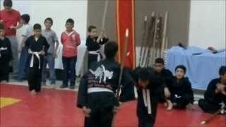 preview picture of video 'أول عرض لتلاميذ أسياد الصخر في معلولا - 2 (ذكرى شربل ناجي وهبي)'
