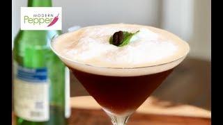 Soju Cocktail | Coffee Cocktails | Dessert Cocktails Recipe (커피 소주 칵테일) - Modern Pepper #43