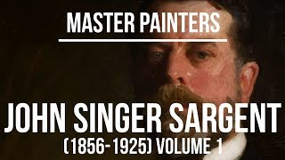 John Singer Sargent Paintings (1856-1925) A Silent Slideshow 4K Ultra HD