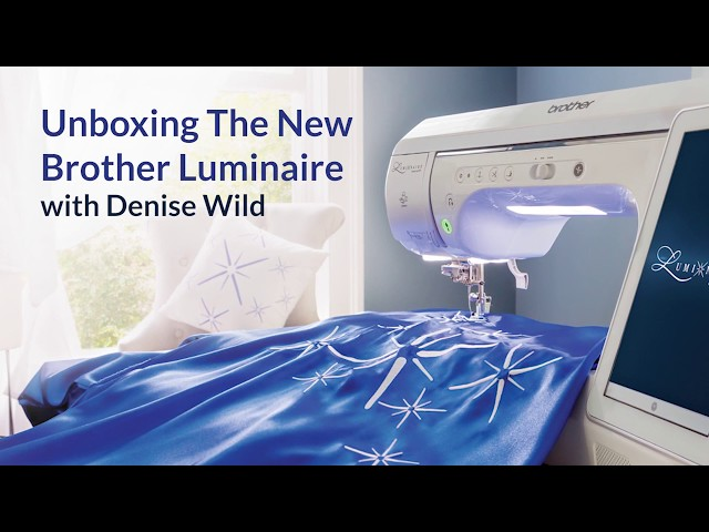 Brother Luminaire Innov-is XP1 Top of the Line Sewing