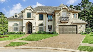 Stunning French Country Themed Home In Conroe, TX