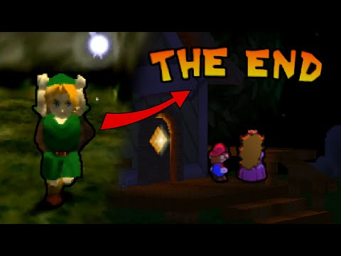 How to beat Paper Mario really fast by… playing Ocarina of Time?