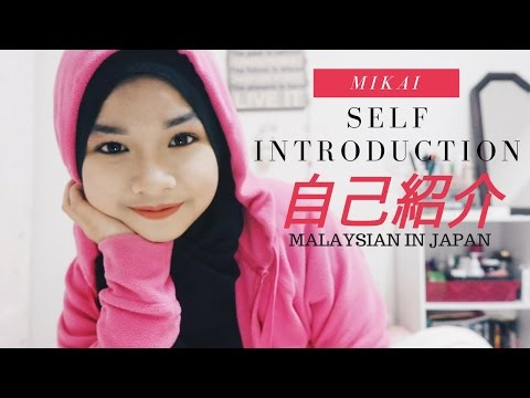 Self Introduction・自己紹介 / Malaysian in JAPAN