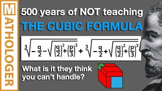 "Re: ""I don't understand the Quadratic / Cubic Formula."""