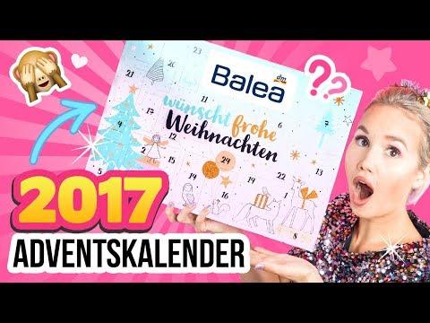 DM HAUL 2017 Adventskalender!! 😍 BALEA Kalender 💕 DM LIVE TEST & UNBOXING Deutsch