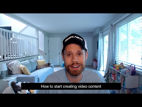 How to start creating video content