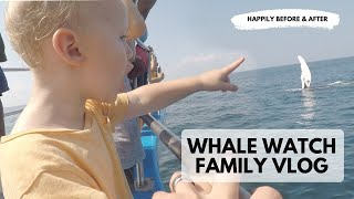 Family Whale Watch in New England Vlog