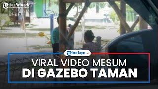 Viral Video Pasangan Muda-mudi Memadu Kasih di Taman, si Laki-laki Bantah Telah Berbuat Asusila