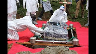 Give virus victims decent burials: Experts - VIDEO