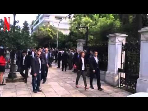 Άφιξη Αλέξη Τσίπρα στο Προεδρικό Μέγαρο