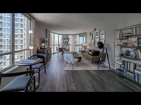 Tour a J-tier one-bedroom model on the River North / Gold Coast border