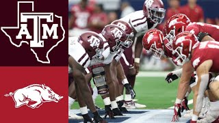 #23 Texas A&M vs Arkansas Highlights | NCAAF Week 5 | College Football Highlights