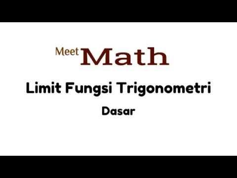Limit Fungsi Trigonometri - Contoh 3