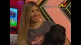 "Candelaria Tinelli y el dulce ""caprichito"" a su papá"