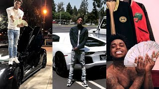 Rappers Showing Off Their Expensive Cars, Jewelry and Money 2 (NBA YoungBoy Kodak Black Lil Baby 50)
