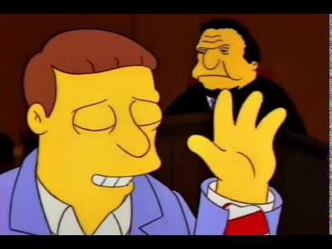 The Simpsons - I'm not wearing a tie at all