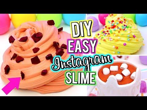 AMAZING DIY INSTAGRAM SLIME! Best Slime Recipes Ever! How To Make Slime!