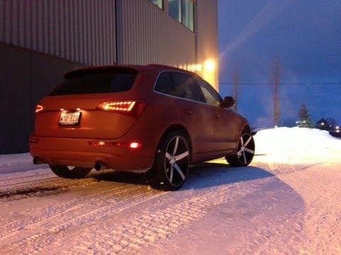 Teaser Audi Q5 Vossen Wheels