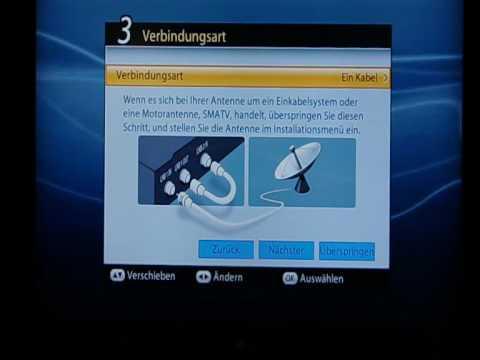 Humax PDR Icord HD WIZARD Installation Umschaltzeiten