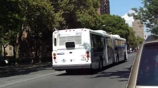 preview picture of video 'MTA New York City Bus: New Flyer D60HF #5672 Bx15 @ 3rd Avenue and E. 169th Street!'