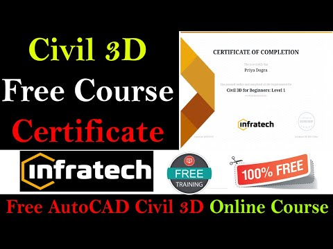 AutoCAD Civil 3D Online Course With Free Certificate - YouTube