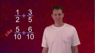 Math Antics - Common Denominator ECD