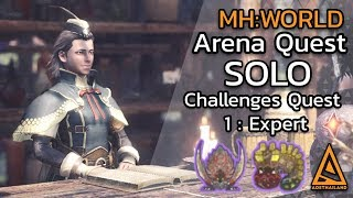 Monster Hunter World Arena Challenges Quest 1:Expert //Ace Hunter Coin, Brute Coin, Flying Coin
