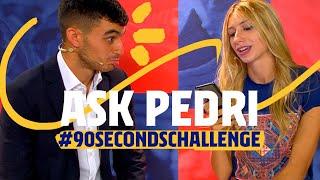 WHO DID YOU QUARANTINE WITH? | Pedri #90secondschallenge