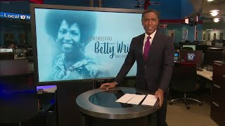 Local 10's Calvin Hughes tributes legendary Miami native, singer Betty Wright