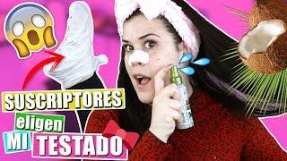 🤬 ¡Mardisiones Para Esta Mascarilla! 💩 Mis SUSCRIPTORES Eligen Mi TESTADO De COSMÉTICA Y BELLEZA