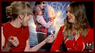 EVERY DAY Cast Plays Fill In the Blank | Angourie Rice, Debby Ryan Movie Interview