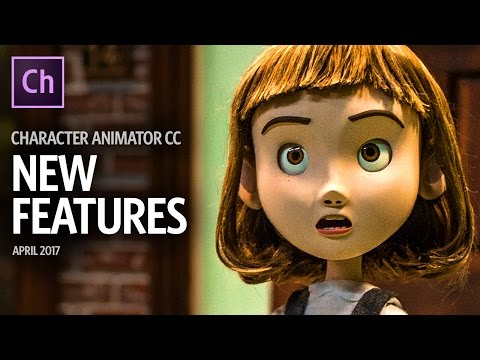 New Features – April 2017 (Adobe Character Animator CC Beta)