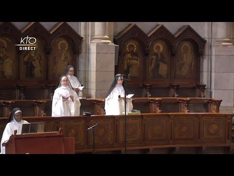 Prière du Milieu du jour du 23 février 2021 des Bénédictines du Sacré-coeur de Montmartre